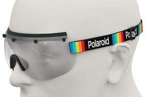 Polaroid eye shield strap