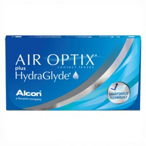Air Optix Contact lenses packaging