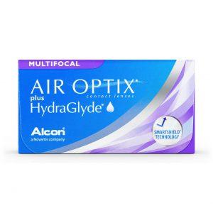 Air Optix Contact lenses packaging