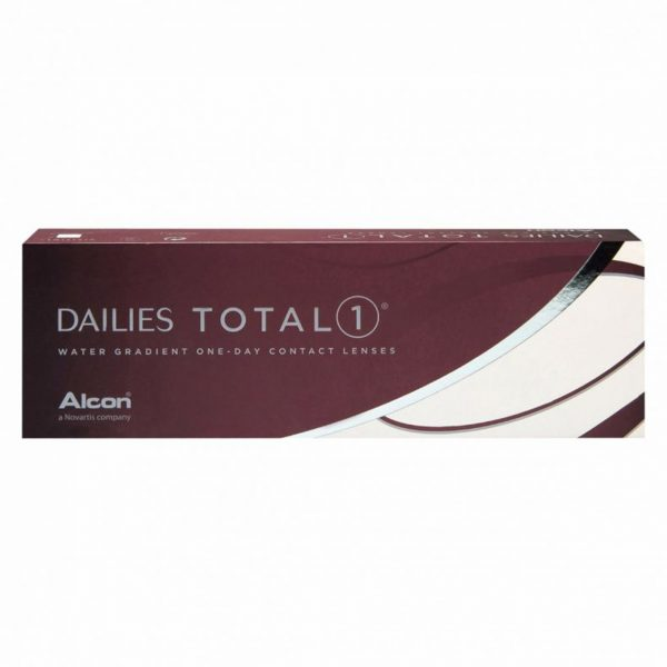Dailies Total 1 water gradient one-day contact lenses packaging
