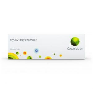 Cooper Vision My day daily disposable contact lenses packaging