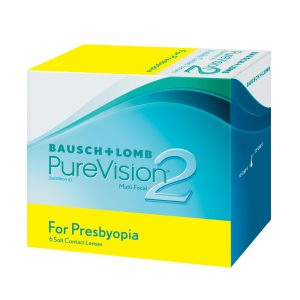 Bausch plus Lomb Pure Vision 2 packaging